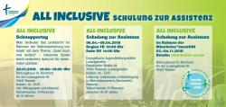 ALL INCLUSIVE Schulung zur Assistenz